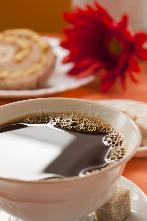 Coffee close up stock photography