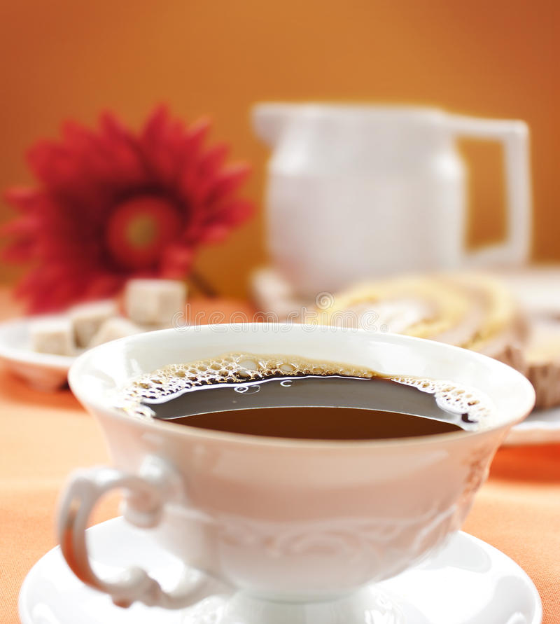 Coffee close up royalty free stock image