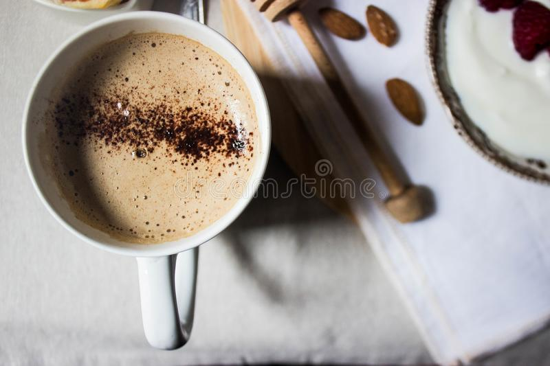 Coffee close up royalty free stock photography