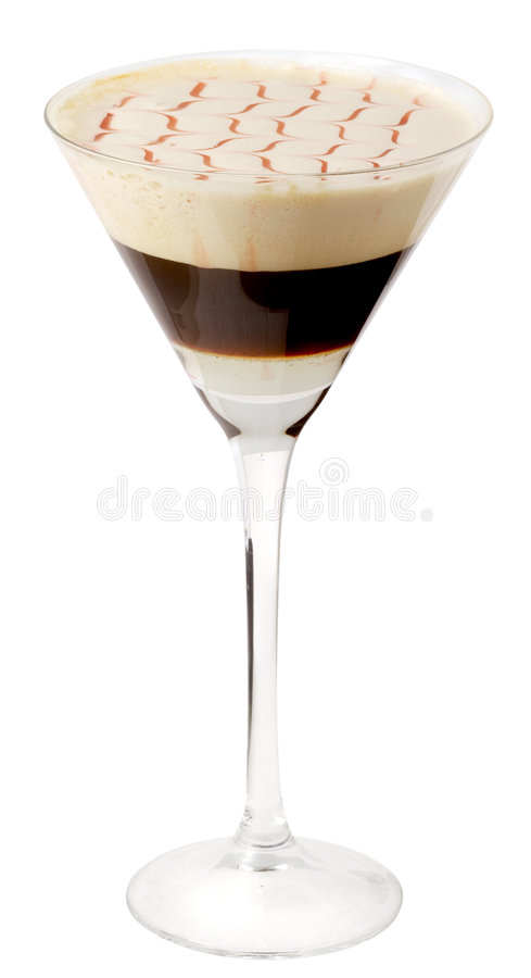 Free Coffee Cocktail In Glass 19 Royalty Free Stock Photos - 3942268