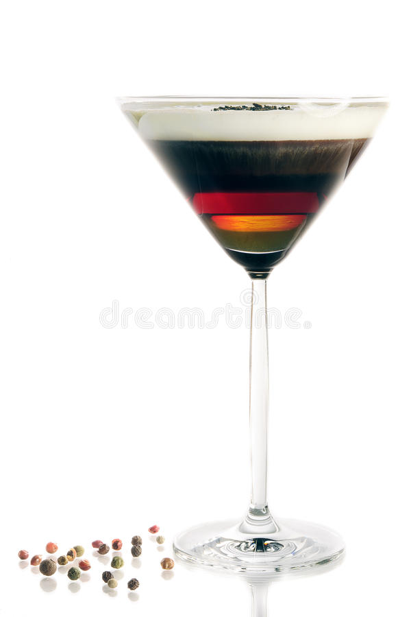 Coffee coctail royalty free stock photo