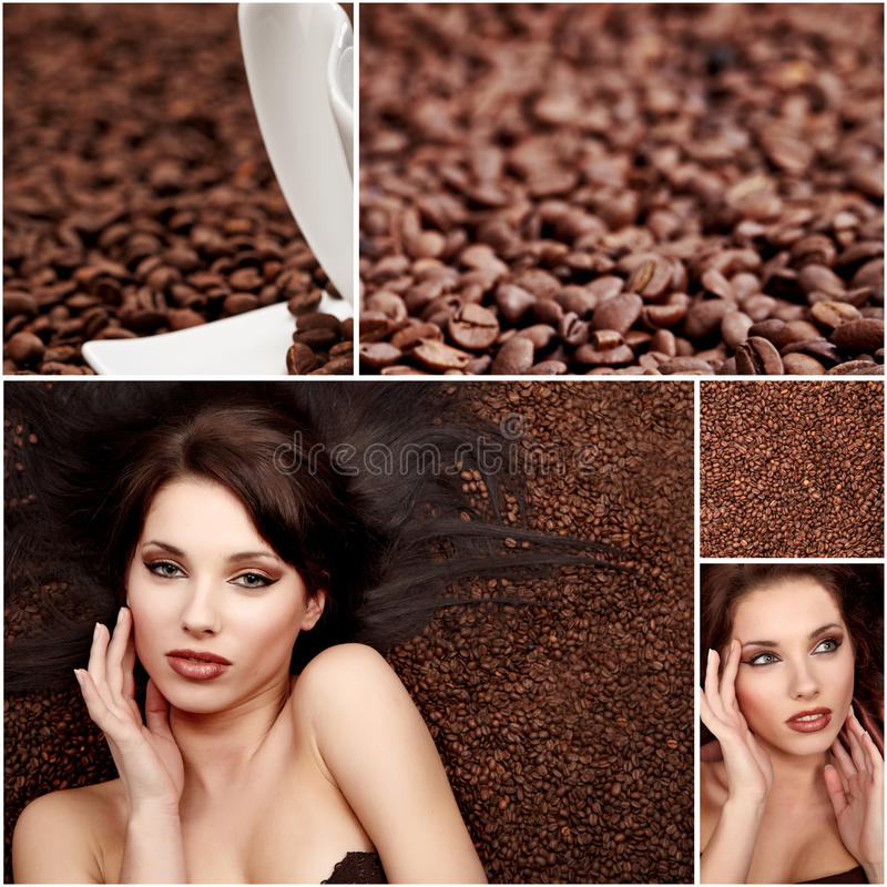Free Coffee Collage Royalty Free Stock Images - 12220069