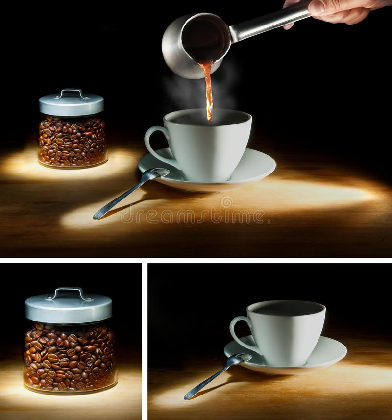 Download Coffee Collage Stock Photo - Image: 16128550