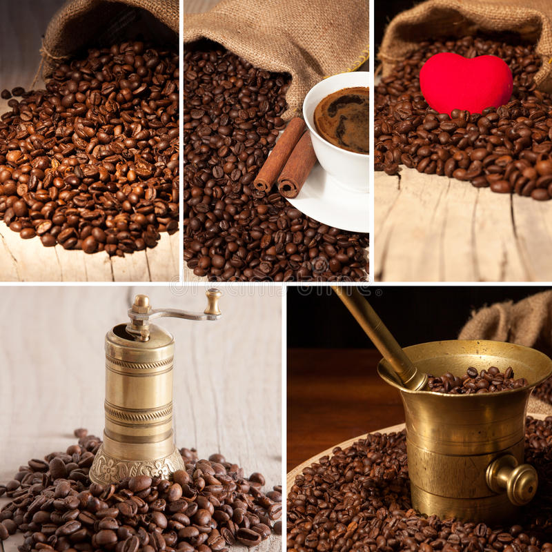 Free Coffee Collage Royalty Free Stock Images - 40918739