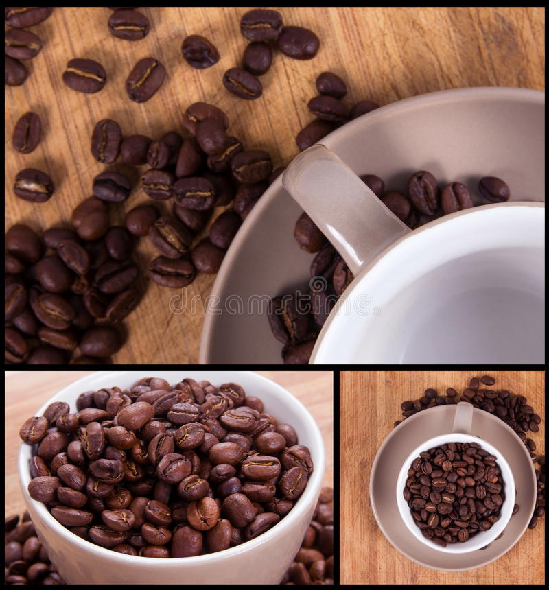 Free Coffee Collage Royalty Free Stock Images - 44749189
