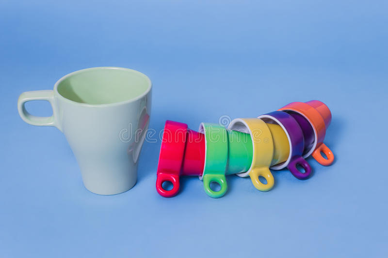 Download Coffee colours stock image. Image of objects, coffee - 28016659