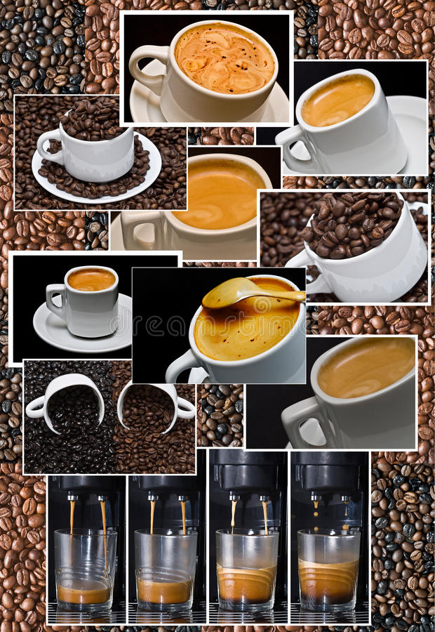Coffee composition. stock image