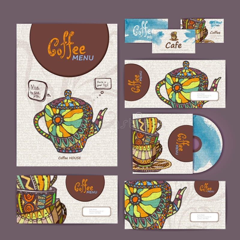 Coffee concept design royalty free illustration