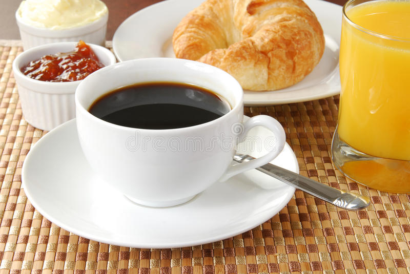 Download Coffee Continental Breakfast Stock Image - Image: 17238015