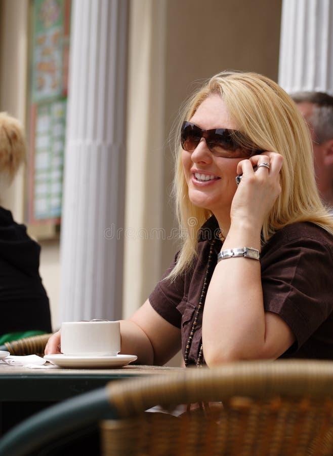 Free Coffee, Conversation And Sunshine Stock Image - 848831