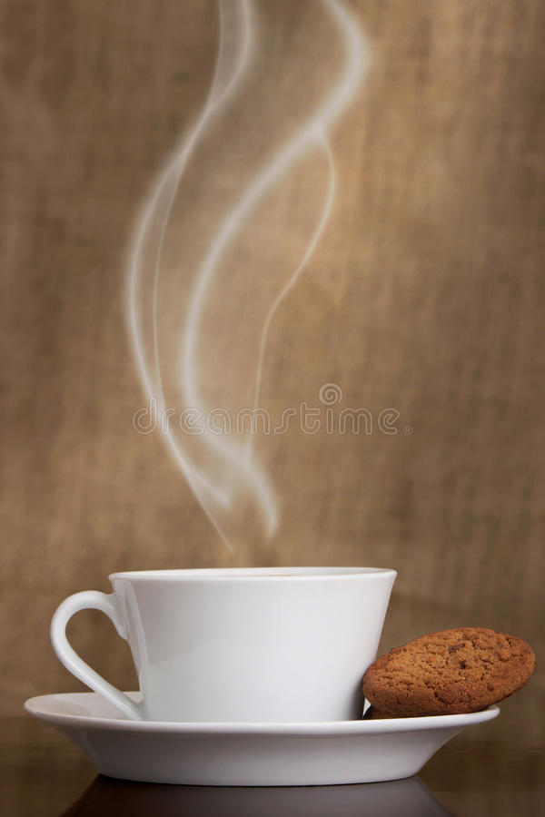 Download Coffee and cookies stock image. Image of concept, cafe - 31363835