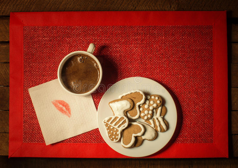 Download Coffee With Cookies 4 Stock Photo - Image: 83715830