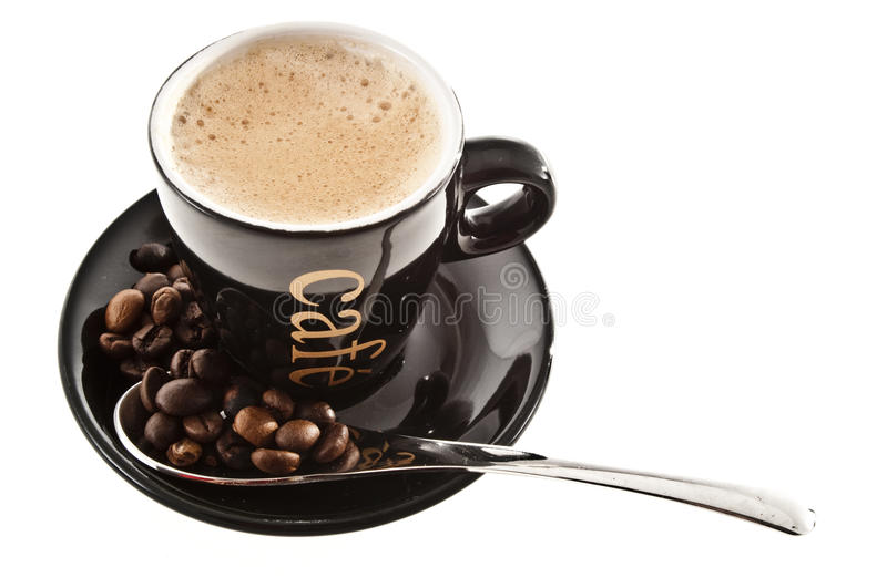 Download Coffee cup stock photo. Image of coffee, beverage, beans - 10737588