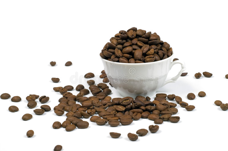 Coffee in cup royalty free stock photography