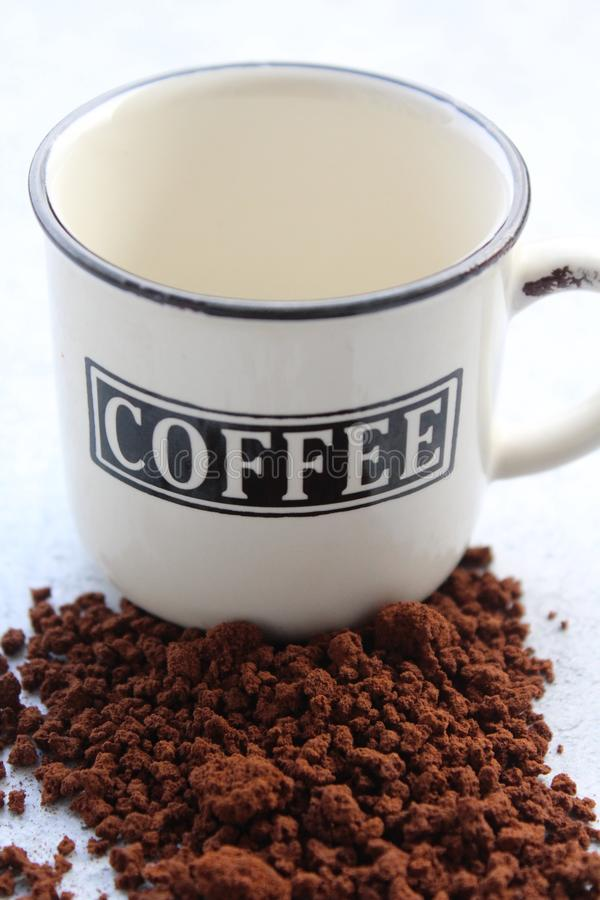 A coffee cup and coffee stock images