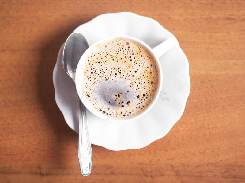 Download Coffee cup stock image. Image of saucer, leisure, aroma - 18123015
