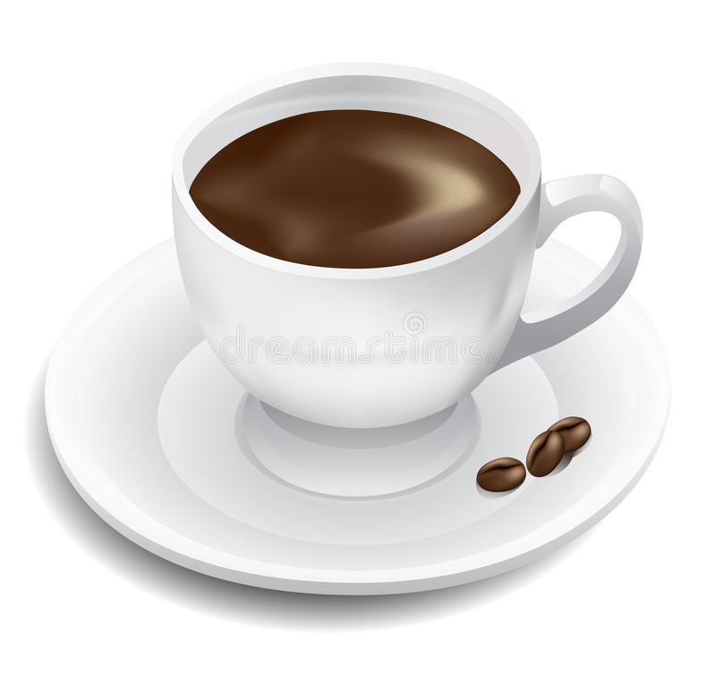 Coffee cup stock illustration