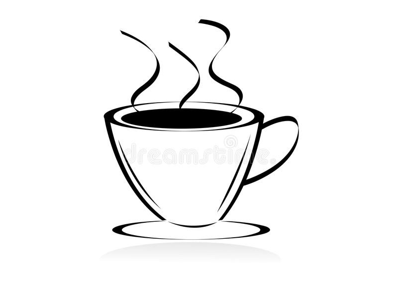 Download Coffee Cup stock illustration. Illustration of cups, plastic - 21562067