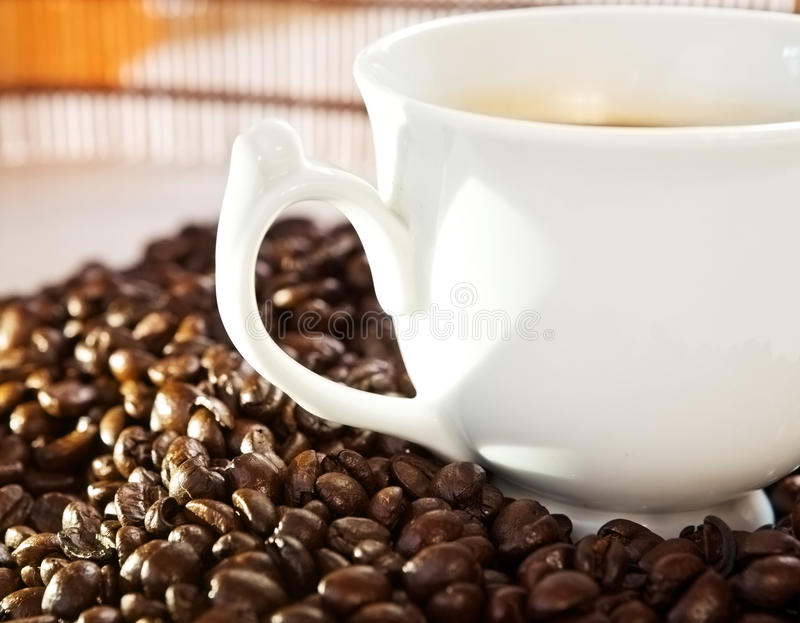 Download Coffee cup stock image. Image of fresh, heart, cafe, health - 24937405