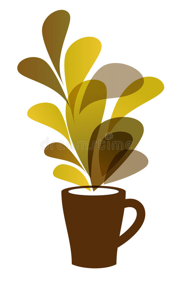 Download Coffee cup stock vector. Image of design, isolated, concept - 25517703