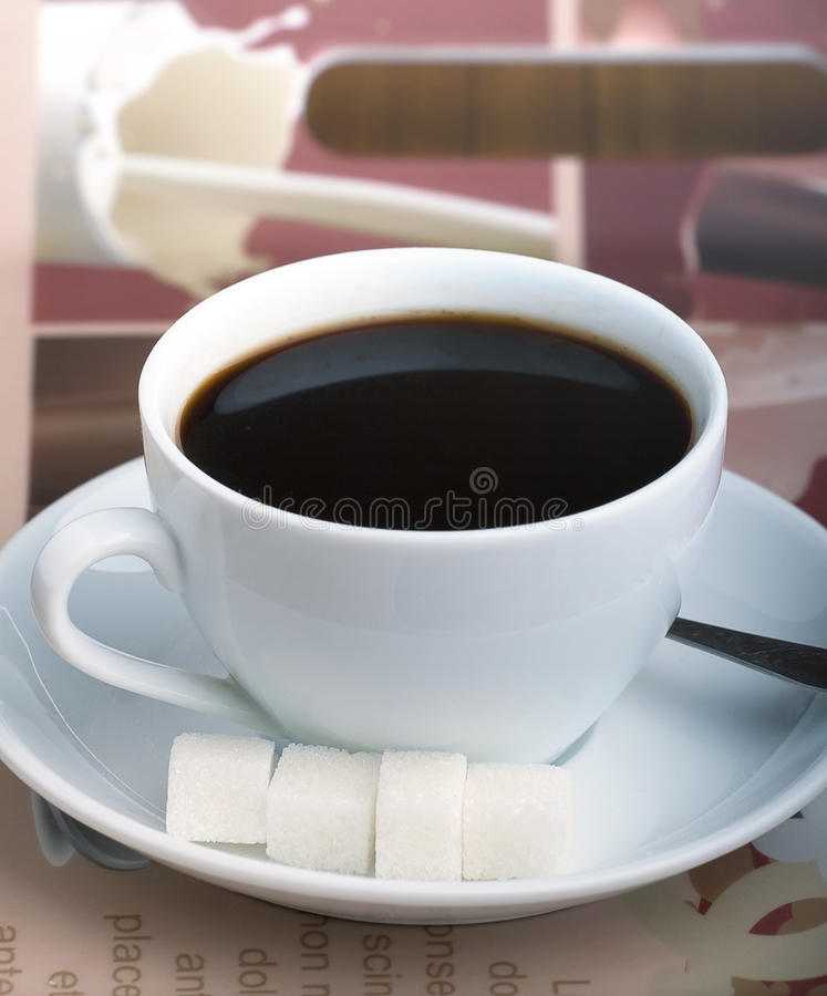 Download Coffee cup stock photo. Image of drink, saucer, bitter - 25604384