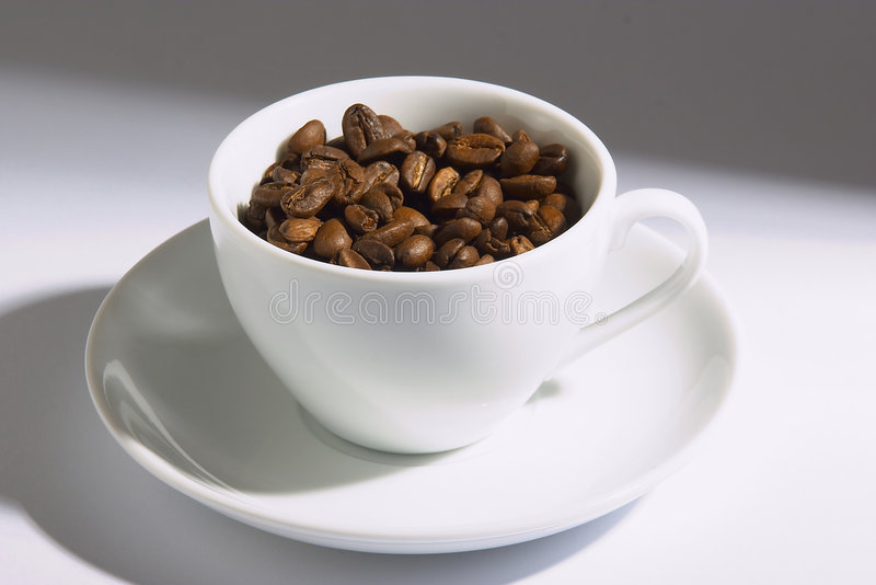 Download Coffee Cup stock image. Image of brew, black, drip, coffebeans - 519203