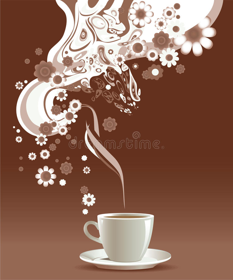 Coffee cup. royalty free illustration