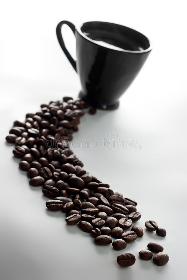 Free Coffee Cup And Coffee Beans Stock Photo - 15168500