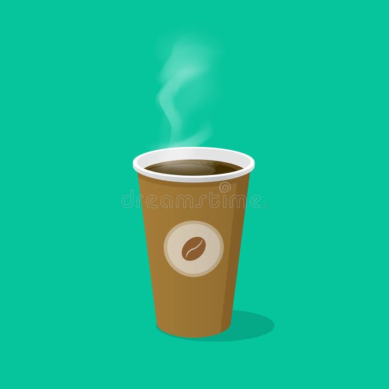 Green Coffee Bean Cartoon Stock Vector. Illustration Of