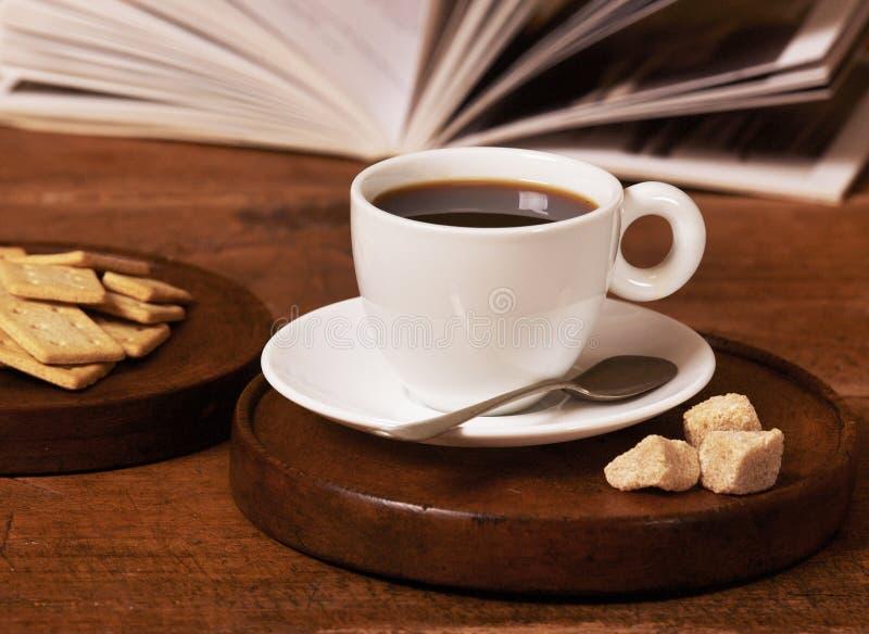 Coffee cup closeup stock image
