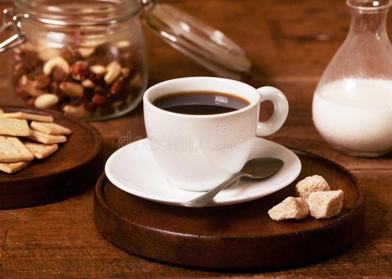 Coffee cup closeup stock photos
