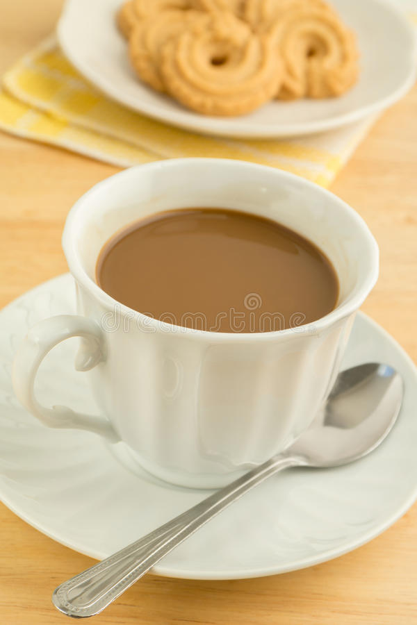 Download Coffee cup and cookies stock photo. Image of cookie, breakfast - 35780406
