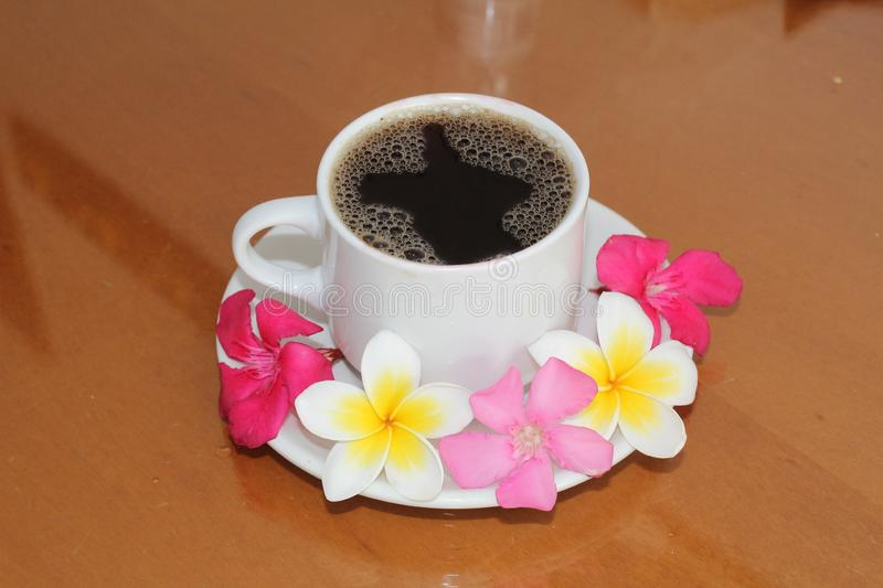 Coffee Cup, Flower, Cup, Tableware stock image