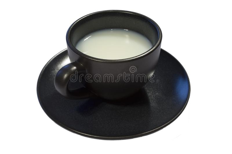 Coffee Cup full of milk