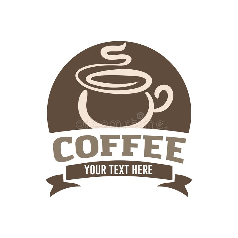 Coffee cup icon symbol illustration royalty free illustration