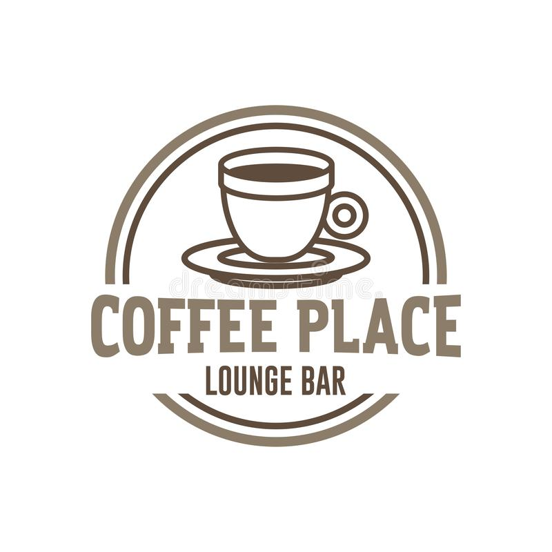 Coffee cup icon symbol vector stock illustration