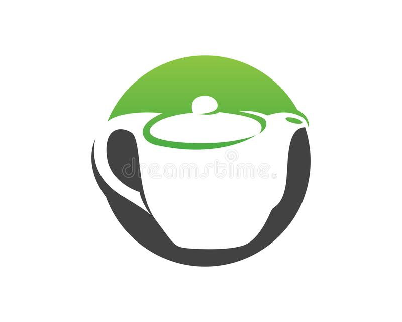 Coffee cup Logo Template vector icon design royalty free illustration
