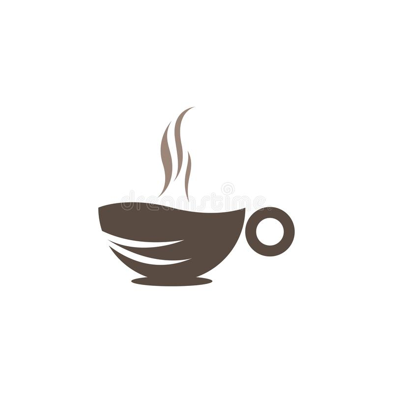 Coffee Cup Logo Template Vector Icon Stock Vector - Illustration of brown, graphic: 168175563