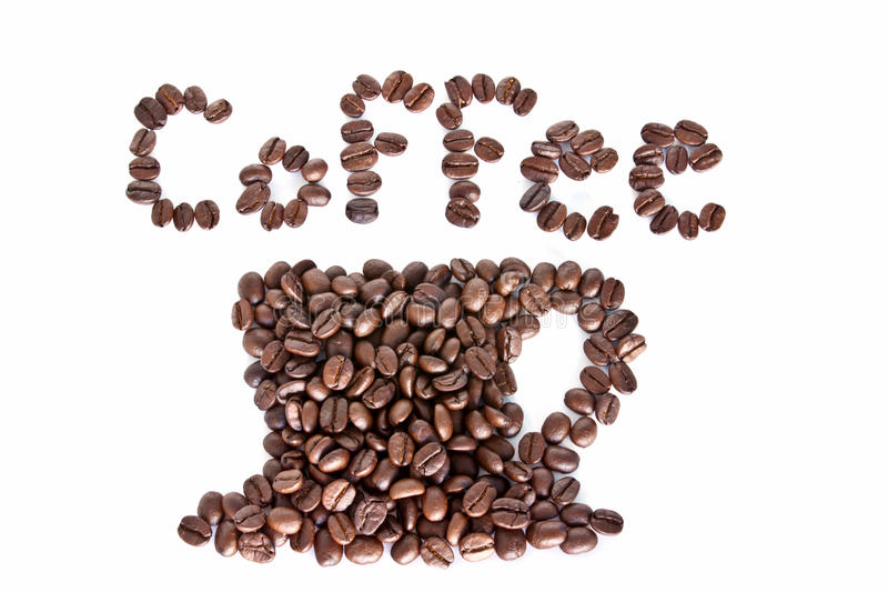 Download Coffee Cup Made Of Coffee Beans Stock Photography - Image: 19013232