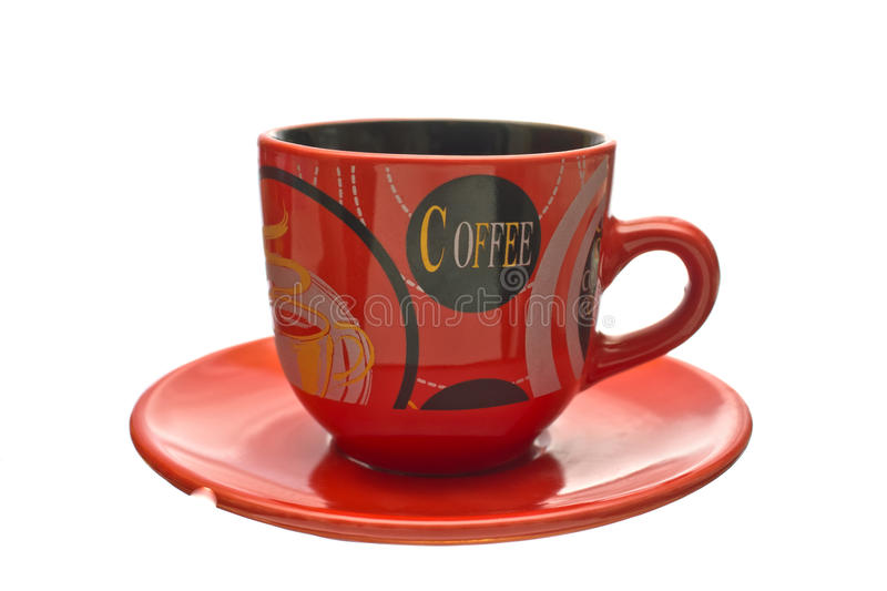 Download Coffee Cup On A Saucer. Stock Photo - Image: 27441680