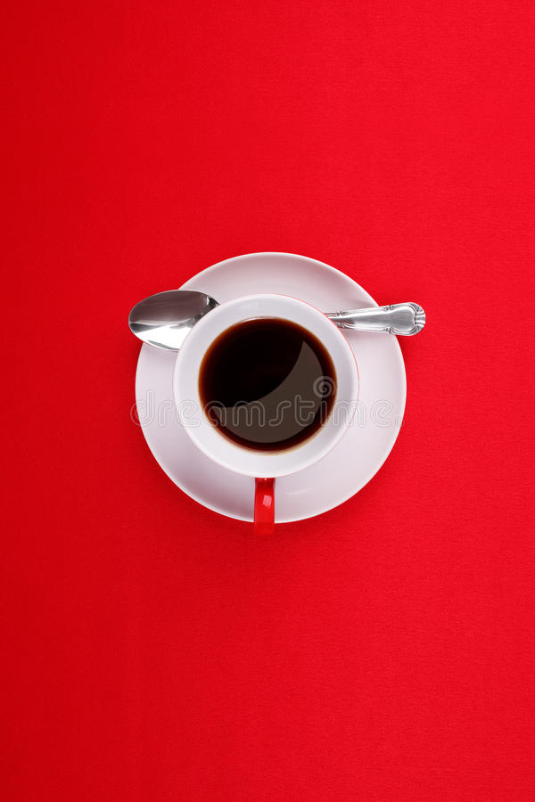 Download Coffee Cup, Saucer And Spoon Stock Photo - Image: 24522900