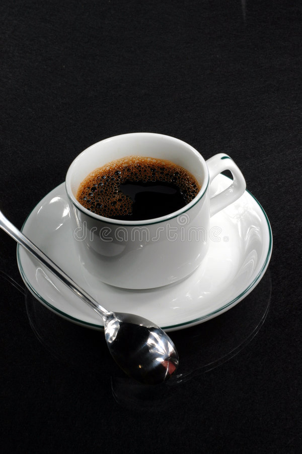 Download Coffee Cup With Spoon Royalty Free Stock Photography - Image: 2305697