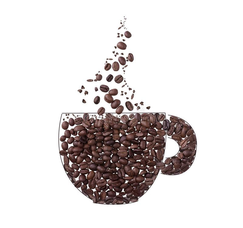 Coffee Cup Steam Stock Images