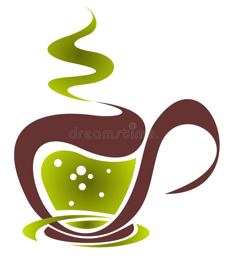 Download Coffee cup stock vector. Image of symbol, tasty, isolated - 33701433