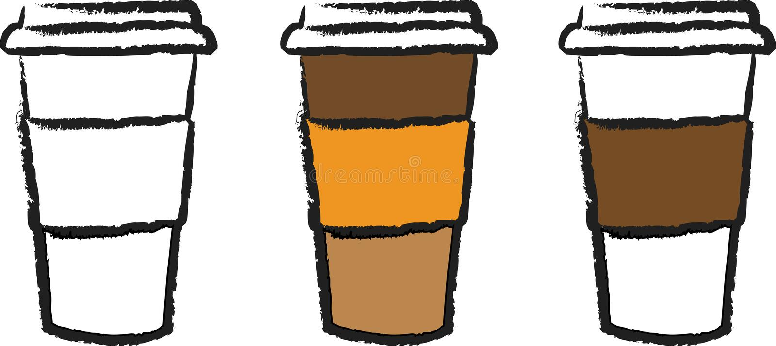 coffee cup to go stock illustration illustration of beverage 16988473 rh dreamstime com Paper Coffee Cup Clip Art Paper Coffee Cup Clip Art