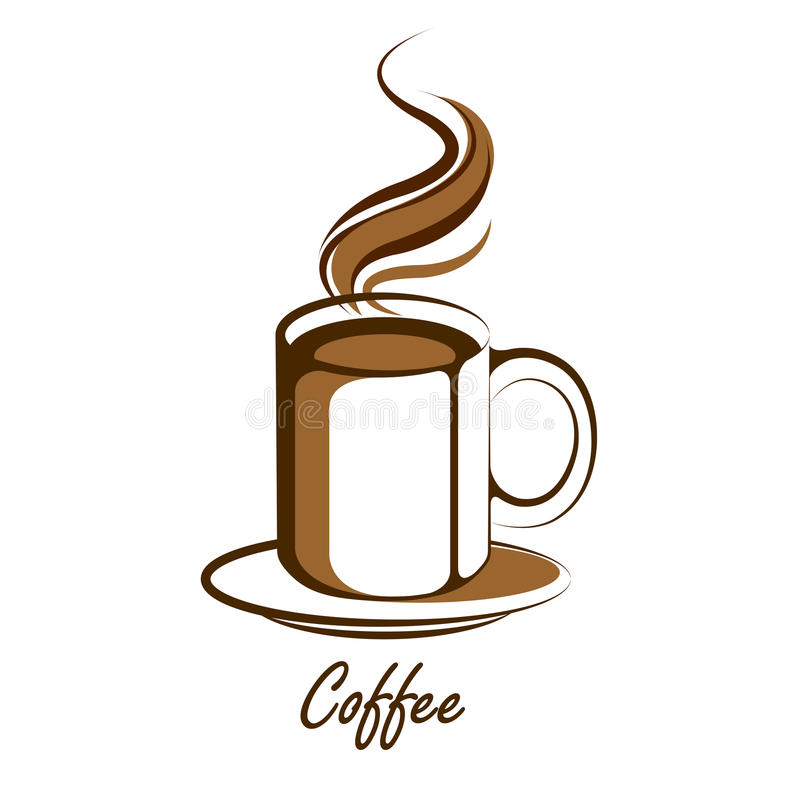 coffee cup vector stock vector illustration of bean 40689332 rh dreamstime com coffee cup vector png coffee cup vector illustrator