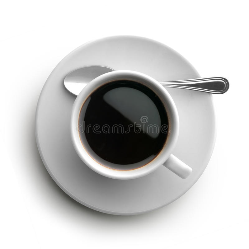 Download Coffee Cup, View From Above Stock Image - Image: 31168459