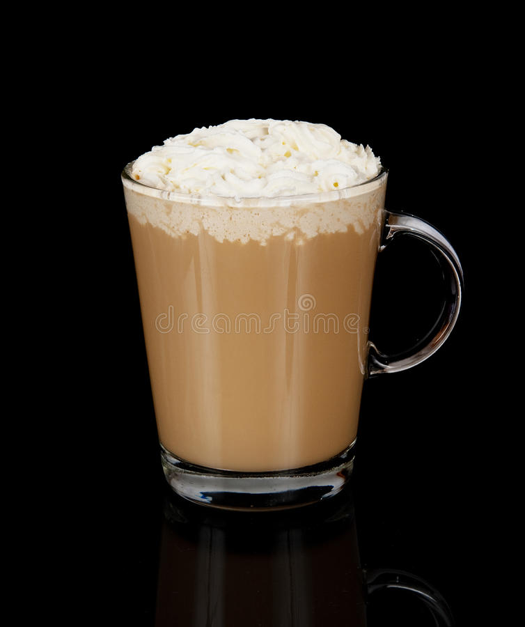 Download Coffee Cup With Whipped Cream Stock Photo - Image: 26645198