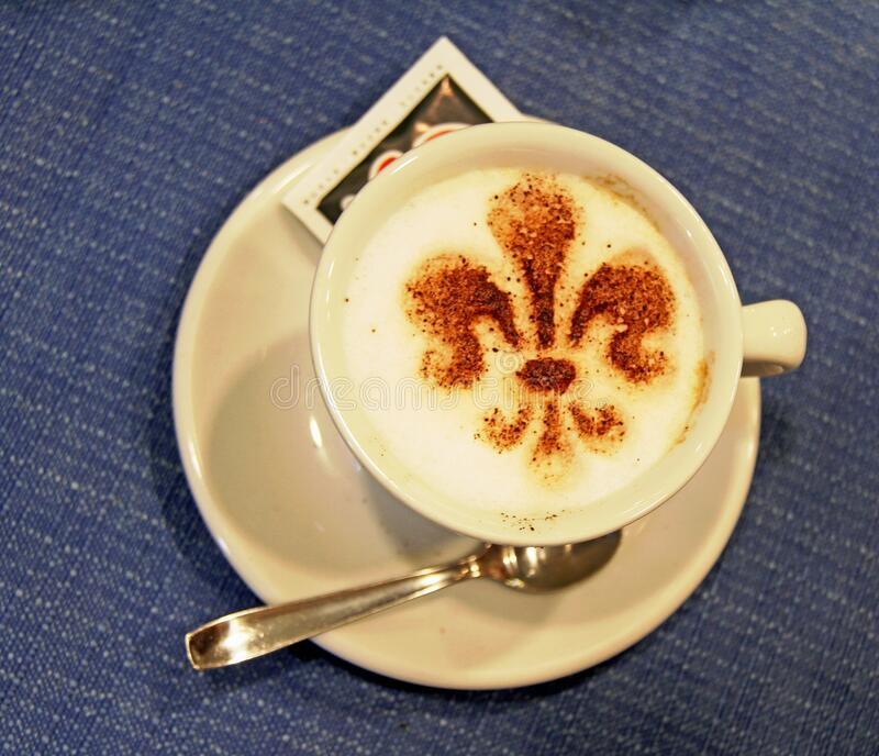 Coffee-cupen arkivfoton
