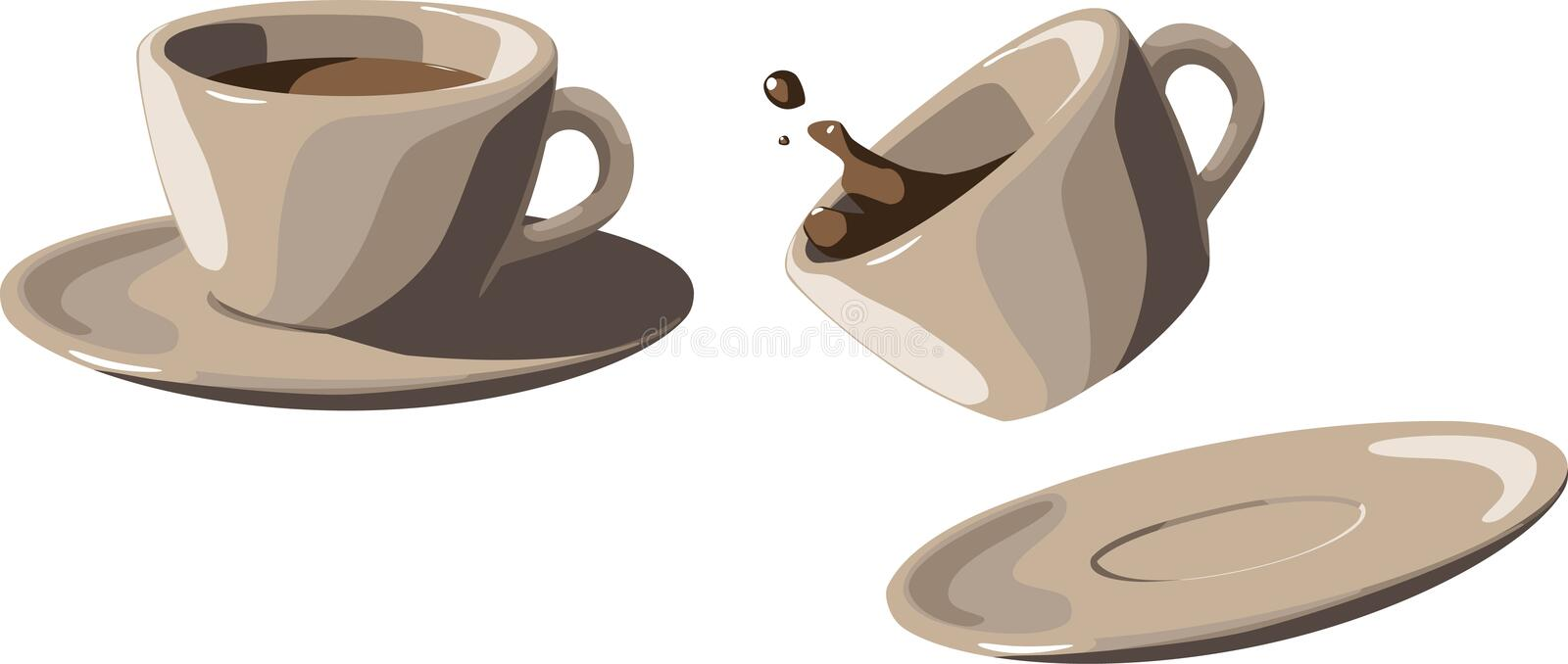 Download Coffee Cups Stock Photography - Image: 17844442